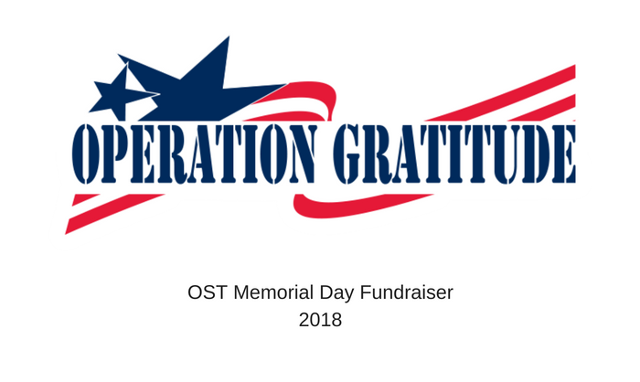 OST Memorial Day Fundraiser 2018